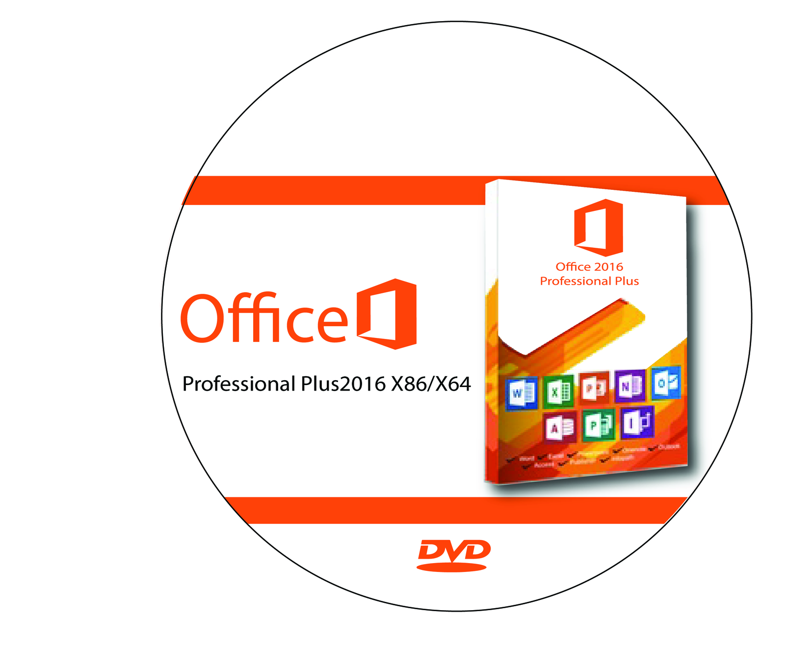 Microsoft Office 2016 Pro Plus Preview X86 X64 Full Picture Gallery Professional Dvd Brand New Genuine 1 Pc Licenses