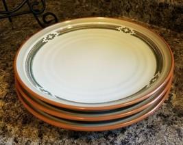 Three (3) Noritake PUEBLO MOON Dinner Plates 8457 - $47.97