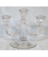 Fostoria Lafayette Triple Light Candle Holder - $34.54