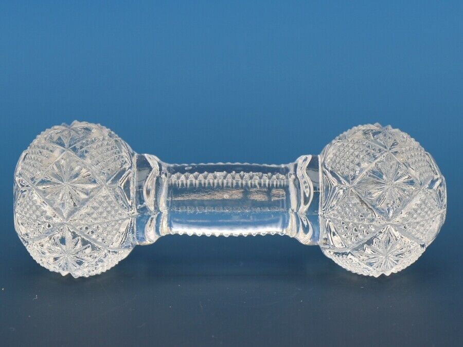 Antique EAPG Pattern Glass Knife Rest