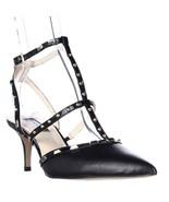 I35 Carma Studded T-Strap Pointed Toe Heels, Black - $23.99+