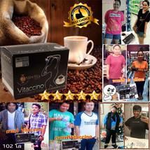Vitaccino Coffee Slimming Diet Instant Black Coffee Mix Tea Herb Burn Fa... - $12.86+