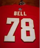 KANSAS CITY CHIEFS #78 BOBBY BELL NFL FOOTBALL T-shirt SMALL NEW w/ TAG - $24.74