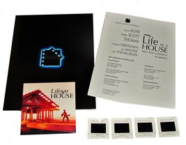 2001 LIFE AS A HOUSE Movie PRESS KIT Folder Photo Disc 4 Slides Producti... - $13.99