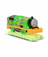 Fisher-Price Thomas & Friends TrackMaster Hyper Glow Percy Engine NEW - $27.71