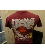 Vtg 80's Maroon Savvy Texas A&M Aggies Basketball NCAA T-shirt Youth M Rare - $23.27