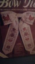 Door Bow Tie Cross Stitch Kit JCA I Love Country  New Sealed - $9.50