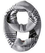 Timberland Women's Diagonal Geometric Birds Eye Pattern Knit Infinity Scarf - $38.35+