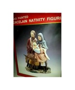 Hand-Painted Porcelain Nativity Figurine - $35.99