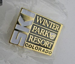 Winter Park Ski Resort Colorado Skiing Pin Colorado Souvenir Travel Lavel Lapel - $9.89