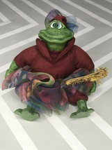 The Country Folks Violetta The Frog Russ Berrie - $14.85