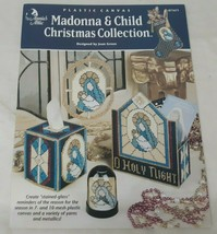 Annie's Attic Madonna & Child Christmas Collection Plastic Canvas Leaflet - $10.65
