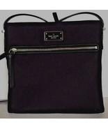 New Kate Spade Dessi Wilson Road Nylon handbag Black - $80.00