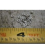 Hex Nuts #00-90 5/64'' Hex .040'' Thick Stainless Steel LOT of - 10#6067... - $22.31