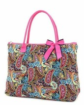 Assorted patterns Belvah quilted floral large tote handbag purse you choose - $29.99