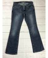 American Eagle Outfitters Girls Size 0 Petite Stretch Skinny Flare Jeans... - $14.99