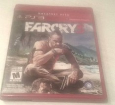 FAR CRY 3 THREE PS3 GREATEST HITS SONY PLAYSTATION VIDEO GAME    - $7.25