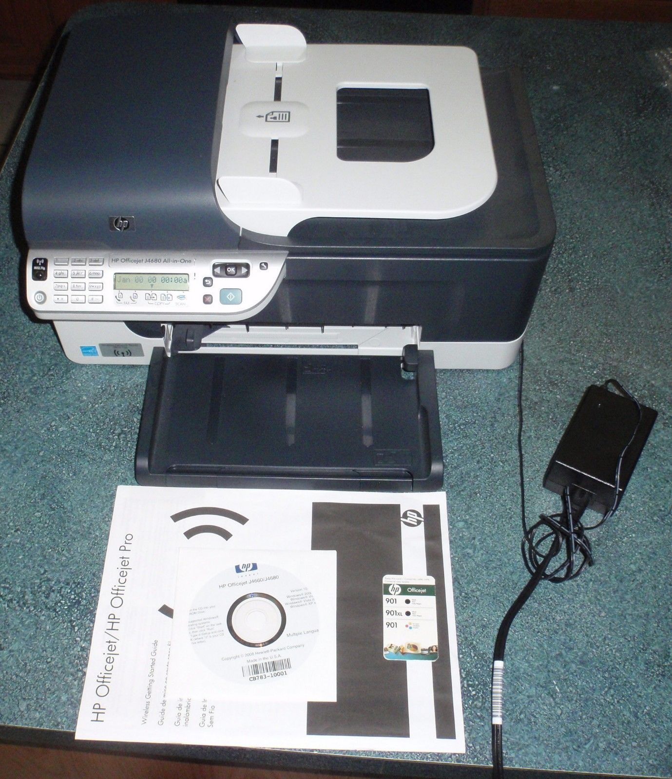HP OfficeJet J4680 All-In-One Inkjet Printer - NICE FIND - FAST SHIPPING!