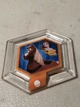 DISNEY INFINITY Power Disc Princess Belle's Horse Phillipe PS3 Wii XBox ... - $6.93