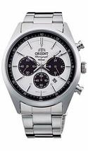 Orient Neo 70's WV0041TX Solar Chronograph Panda Men's Watch Made In Jp - $319.00