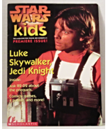 Issue 1 w/Luke poster and issue 2 Star Wars Kids Magazine from Scholasti... - £7.93 GBP
