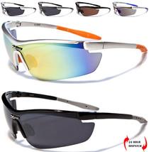 X-Loop Herren Damen Gewickelt Schild Licht Außen Radfahren Laufen Sonnenbrille - $18.62