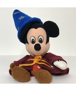 "Disney Mickey Mouse Fantasia Sorcerer Wizard Plush Beanie Toy 10"" Tall  - $13.78"