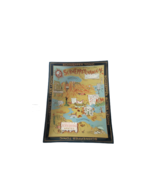 "Vintage Schweppsylvania Schweppes Tonic Glass Dish Tray Comic 7""W x 9""Tall - $19.79"