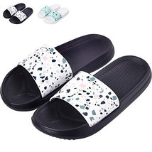Shower Sandal Slippers with Drainage Holes Quick Drying Bathroom Slipper... - $13.95