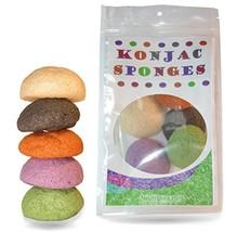 Konjac Sponge Set: Organic Skincare Facial for Natural Exfoliating and Deep Pore image 1