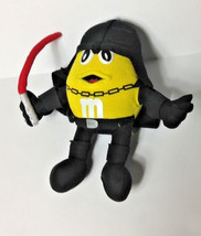 Star Wars Darth Vader YELLOW M&M's Plush Figure M&M Hasbro stuffed anima... - $9.49