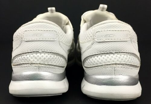 Skechers Gratis Going Places Women's White Memory Foam Insole Shoes 22603 Size 6 image 2