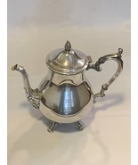 "Silver Plated Décor Tea Pot with lid 7"" tall  - $399.99"