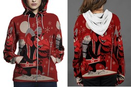 [Perfect Winter Christmas Gift] Krampus Christmas Pop Art Hoodie Zipper ... - $50.99+