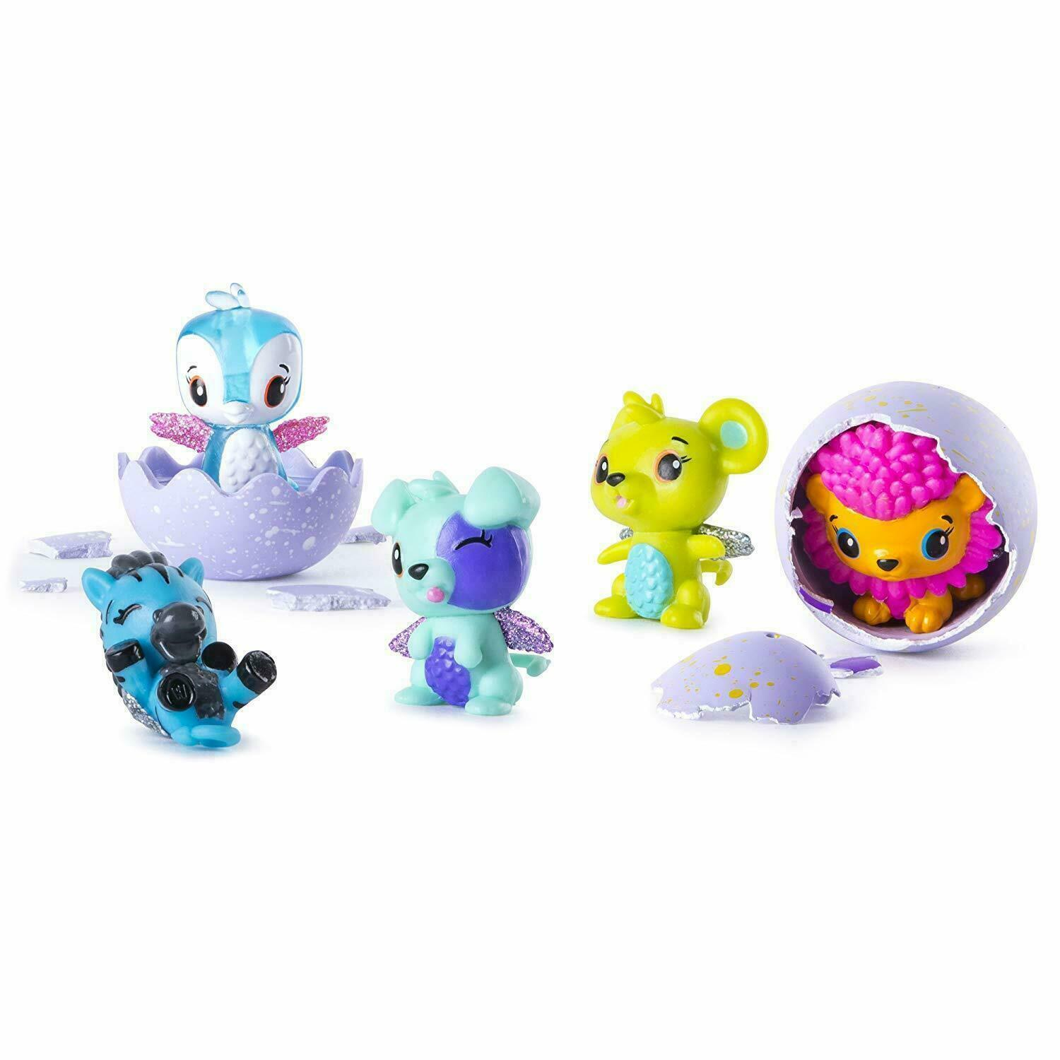 Hatchimals - CollEGGtibles - 4-Pack + Bonus (Styles & Colors May Vary)