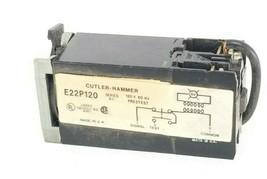 EATON CUTLER-HAMMER E22P120 PILOT LIGHT E22P120, SER. A1, 120V 60HZ image 1