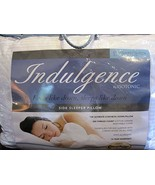 Indulgence By Isotonic Side Sleeper Standard/queen Pillow - $46.23