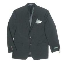 NEW LAUREN RALPH LAUREN CLASSIC BLACK WOOL BLAZER SUIT JACKET SIZE 40S - $99.00
