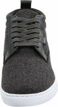 WeSC Men's Charcoal Melange Hagelin Melton Wool Fashion Sneakers Shoes NIB image 3