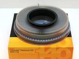 Kodak Carousel Transvue 140 Slide Tray Made in USA by Eastman Kodak Company Grey - $5.00