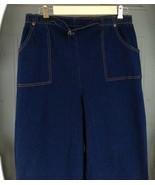 Denim & Company Elastic Waist Jeans Size LT Dark Blue - $8.00