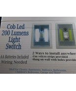 WHOLESALE LOT 6   Cordless LED COB  Light 200 Lumen LED Switch Battery P... - $11.88