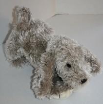 "GUND DOG 12"" Light Tan Cream Shaggy Plush Stuffed Animal Soft Toy 1990 K... - $27.27"