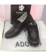 Adolfo Men's Casual Slip On Shoes Black Style S/Adam-1 Size 10.5 No shoe... - $25.99