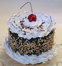 """Nutty Butty Cake  6"""" Faux Cake- fake food decoration Prop - $26.72"""