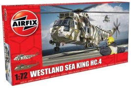 Airfix Plastic Models Kits A04056 Westland Sea King HC.4 1:72nd Military... - $32.61