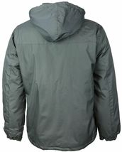 Men's Water Resistant Polar Fleece Lined Hooded Windbreaker Rain Jacket image 13
