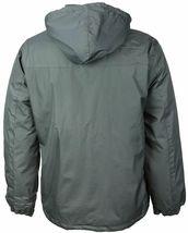 Men's Water Resistant Polar Fleece Lined Hooded Windbreaker Rain Jacket image 13