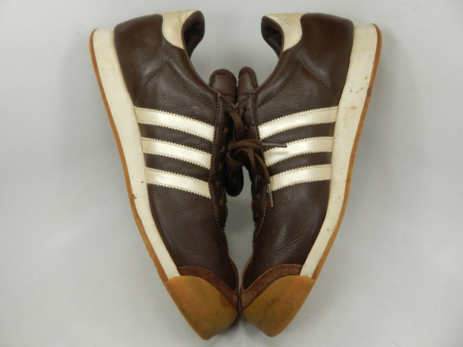 Adidas Samoa Größe US 12 M (D) Eu 46 2/3 Herren Freizeit Turnschuhe Braune image 6