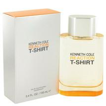 Kenneth Cole Reaction T-Shirt by Kenneth Cole Eau De Toilette Spray 3.4 oz , Men - $12.61